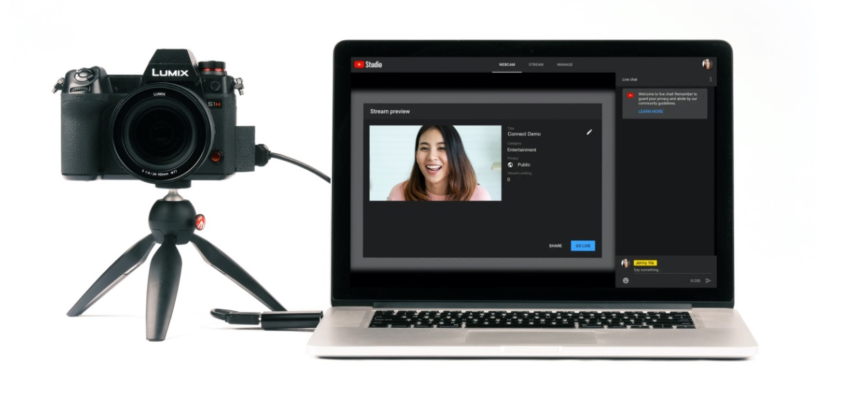 Connect you camera to PC